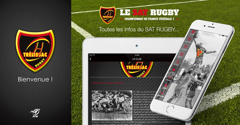 création d'applications mobile Rugby